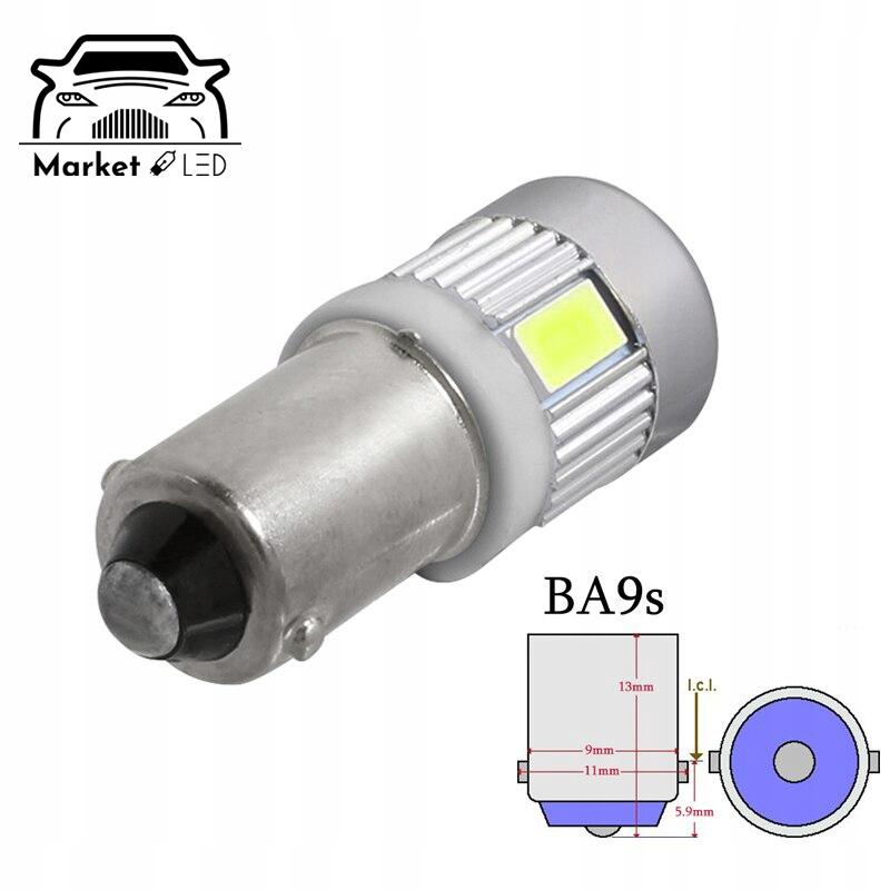 Żarówka T4W /BA9s - LED 6xSMD SOCZEWKA Rodzaj LED