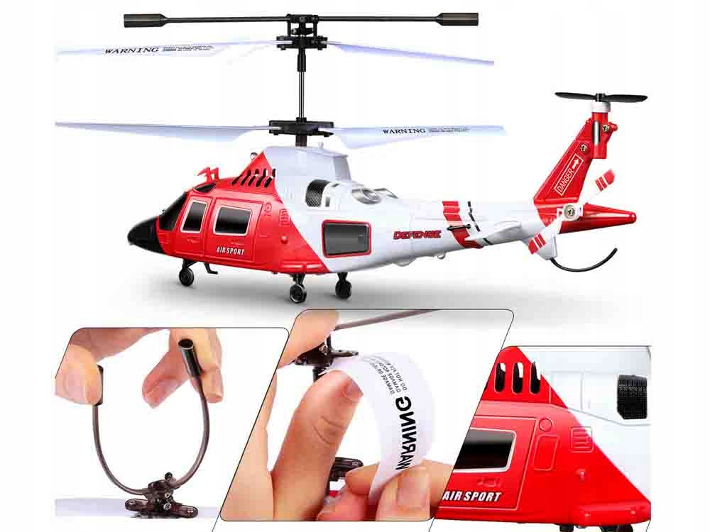 Helikopter Syma S111G sterowany na pilota RC0541 Bohater inny