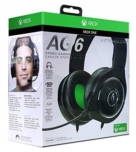 Проводные наушники Xbox One Afterglow AG6 PDP
