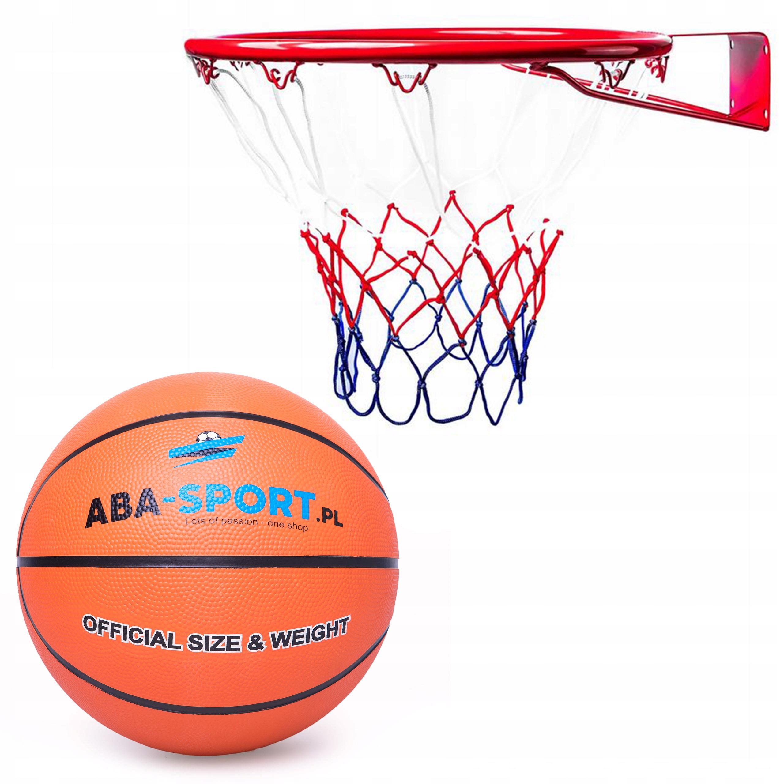 Veľký basketbalový obruč 45 cm Basket Grid Ball