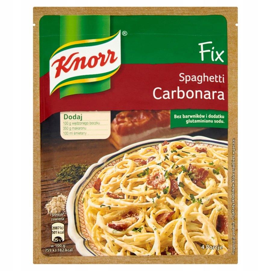 Knorr fix карбонара 45гр
