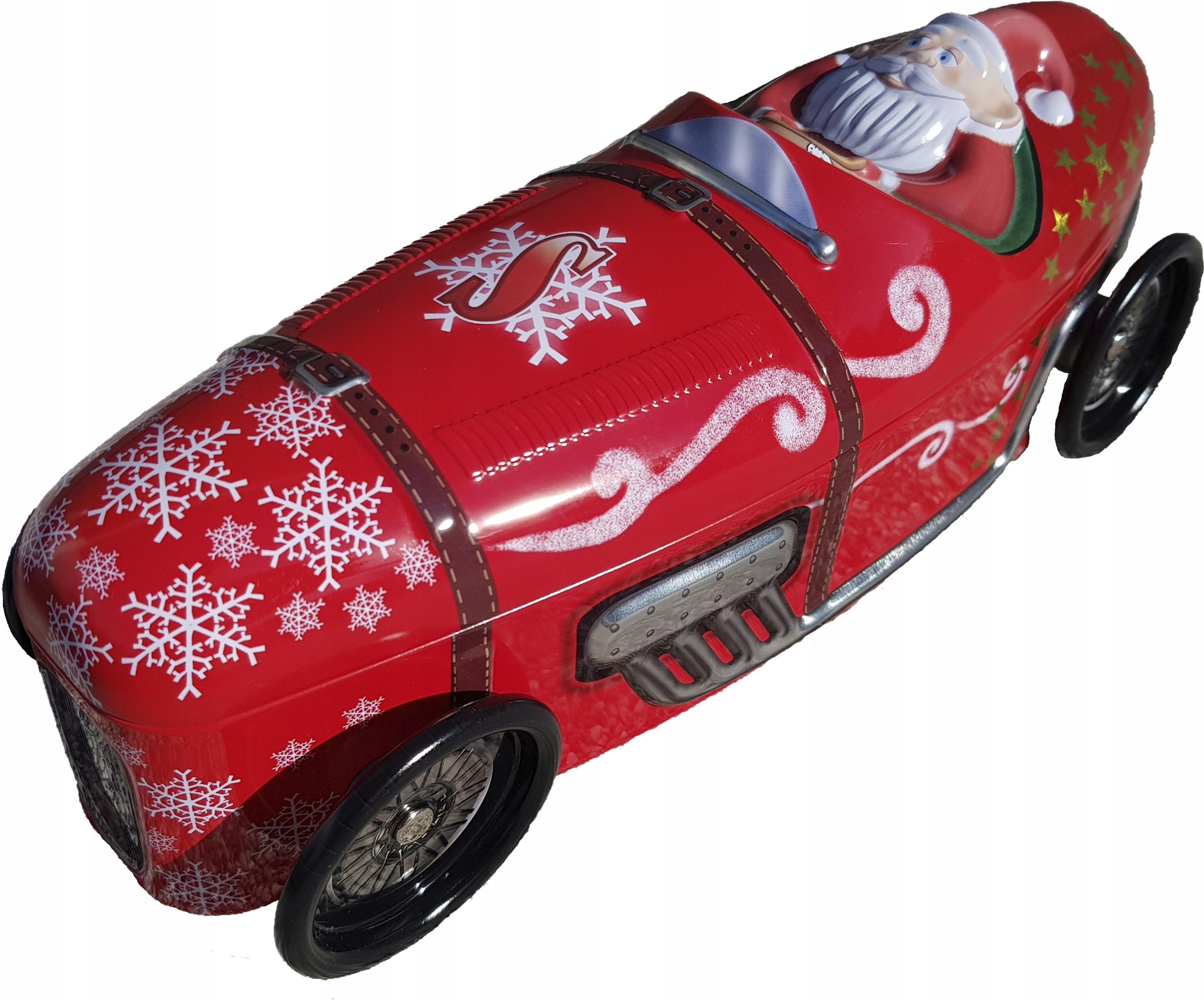 AUTOMOBILOVÝ KONTAJNER Santa Claus 28 cm