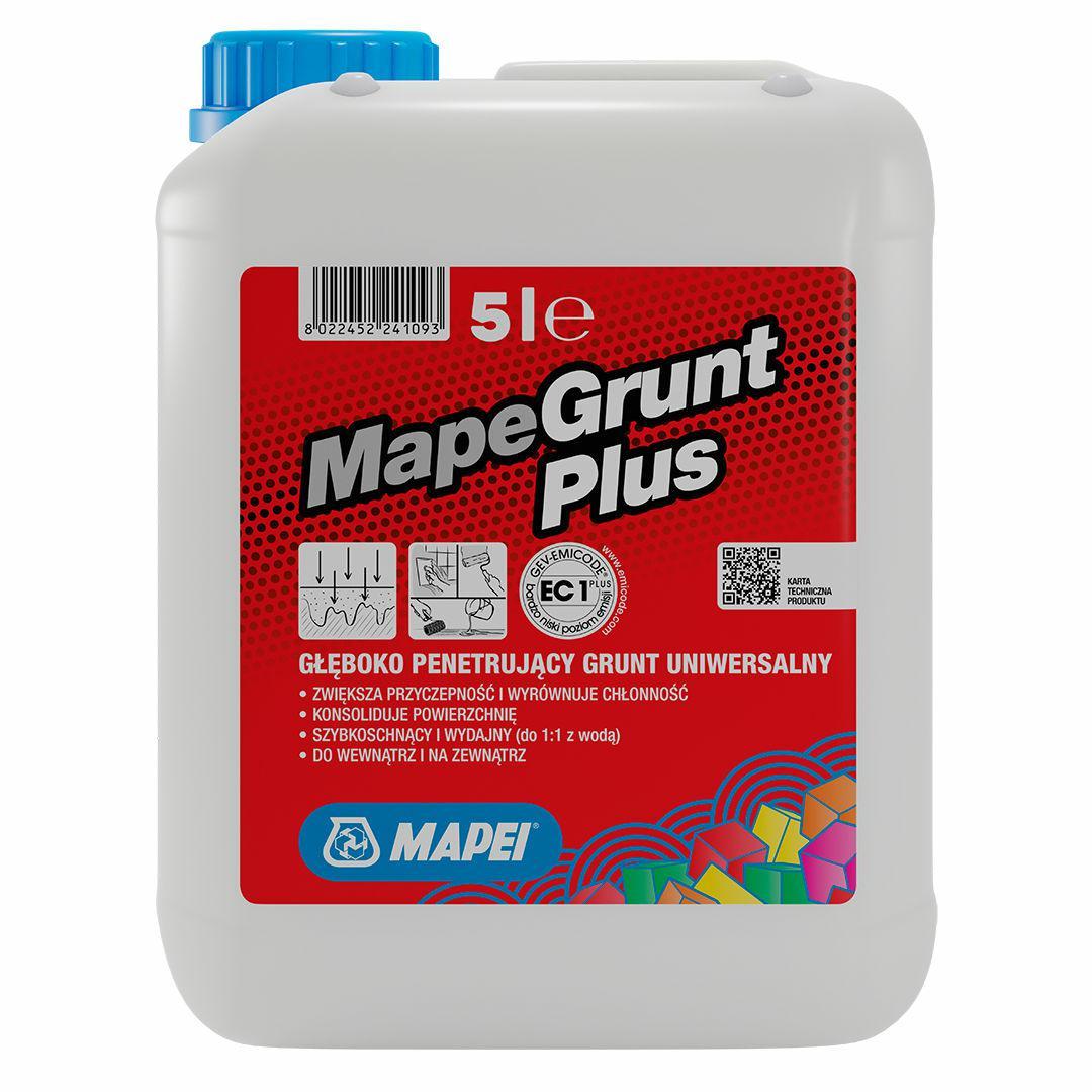 MAPEI MapeGrunt PLUS grunt głęboko penetrujący 5L