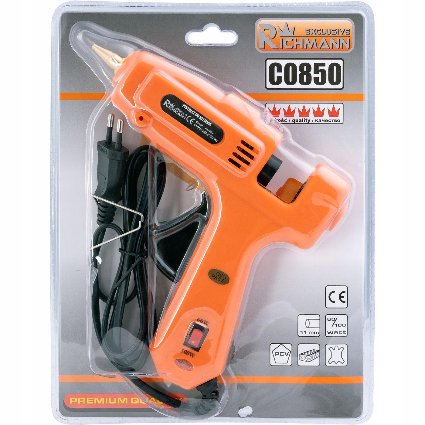 PISTOLET DO KLEJU 60/100 W EXCLUSIVE Kod producenta C0850