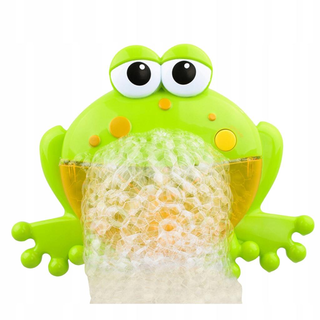 Żaba bąbelkowa do robienia piany żabka 1111-19 Wysokość produktu 20 cm