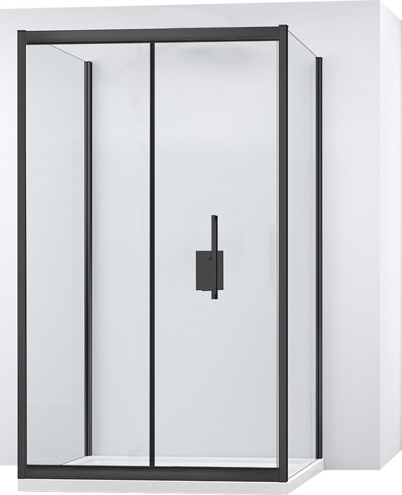 Rapid FOLD 100x100 nástenný sprchový kút