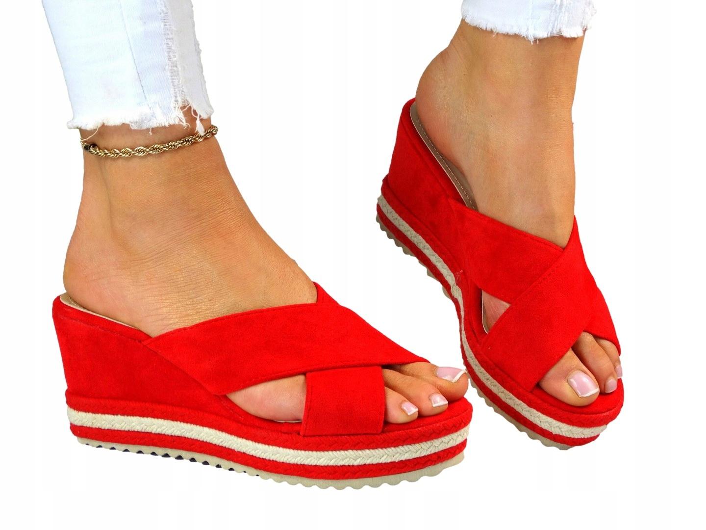 Красные женские тапочки для комфорта Koturnie