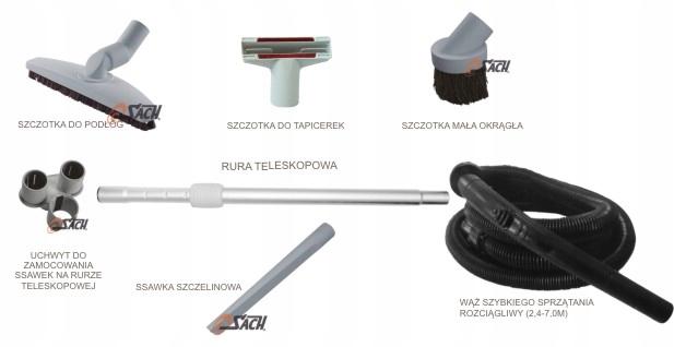 Стандартный набор для чистки 32 мм Sach Beam Vacuflo