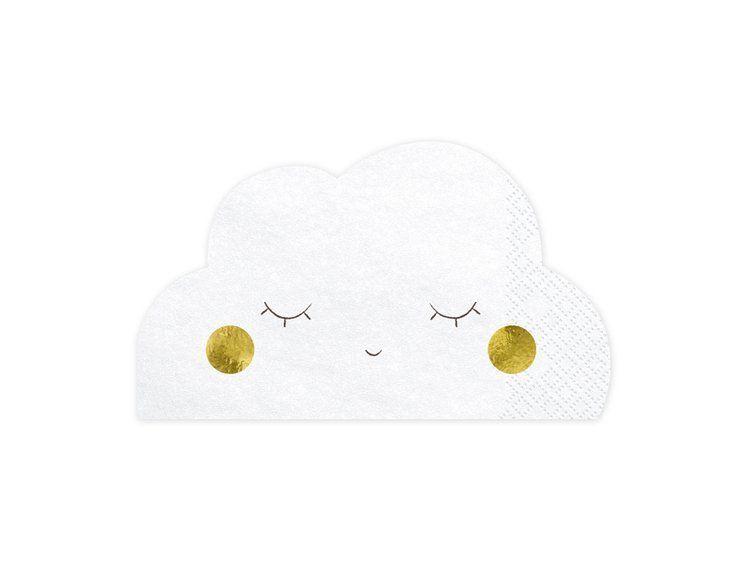 Салфетки Cloud, 16x9,5 см (1 упаковка из 20 шт.)