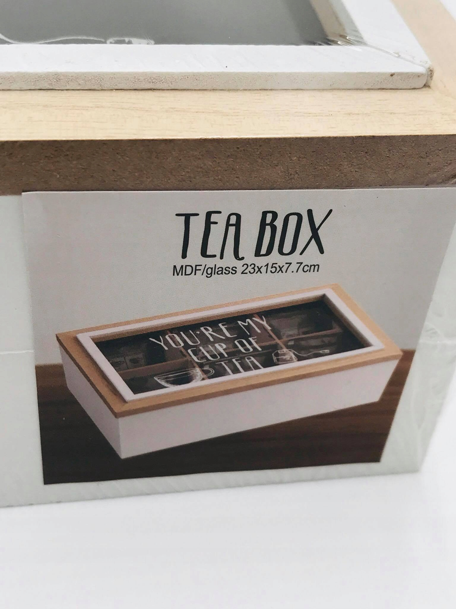 Krabička na čaj, krásny štýl LOFT RETRO