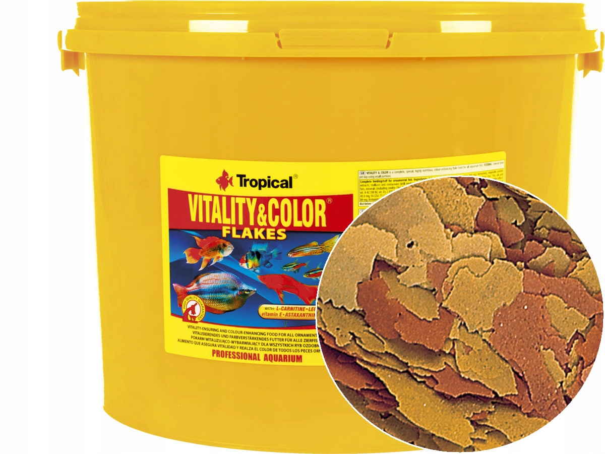 TROPICKÉ Vitality & Farba 4 kg/21L Potravín