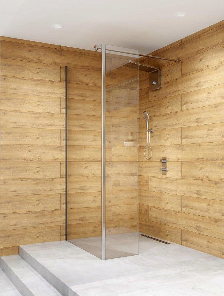 Sprchová stena s bočným sklom ARES 140x200
