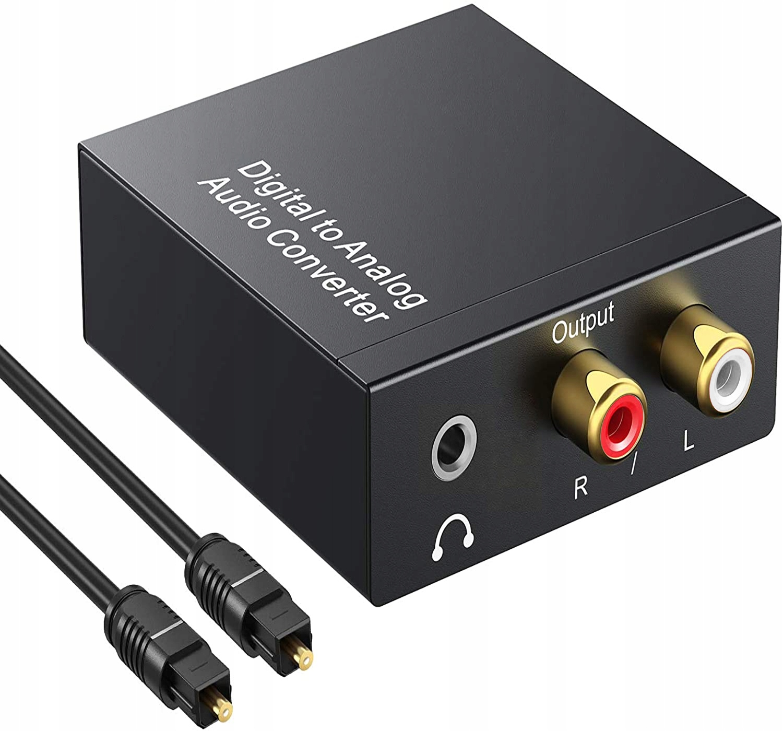 Оптический преобразователь коаксиальный Toslink RCA 2x CINCH 66