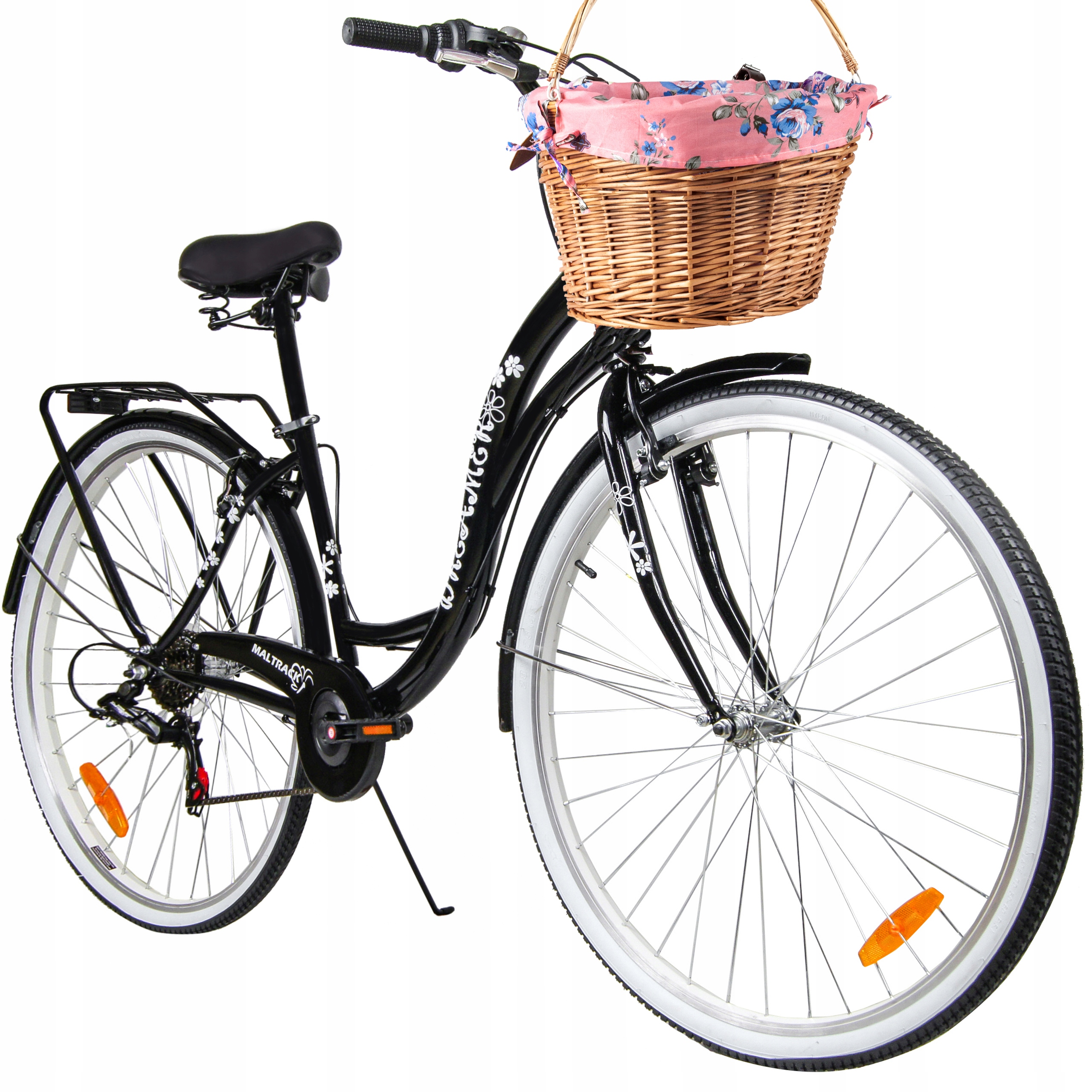 Городской велосипед 28 '' Женская Damka Racing 6 + корзина