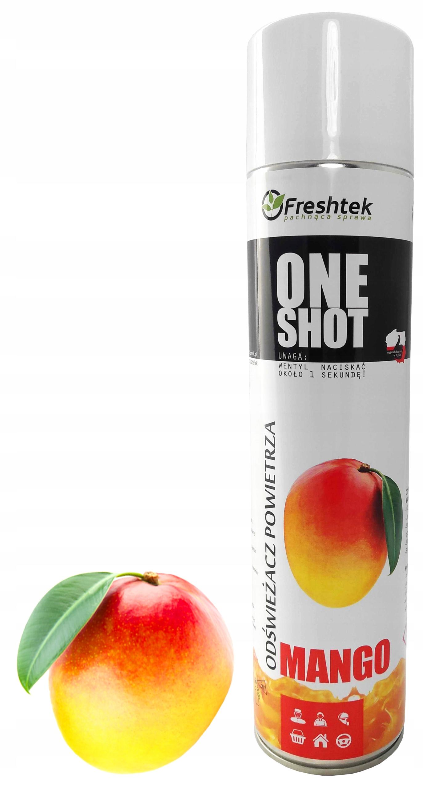 Neutralizator zapachów Freshtek ONE SHOT MANGO