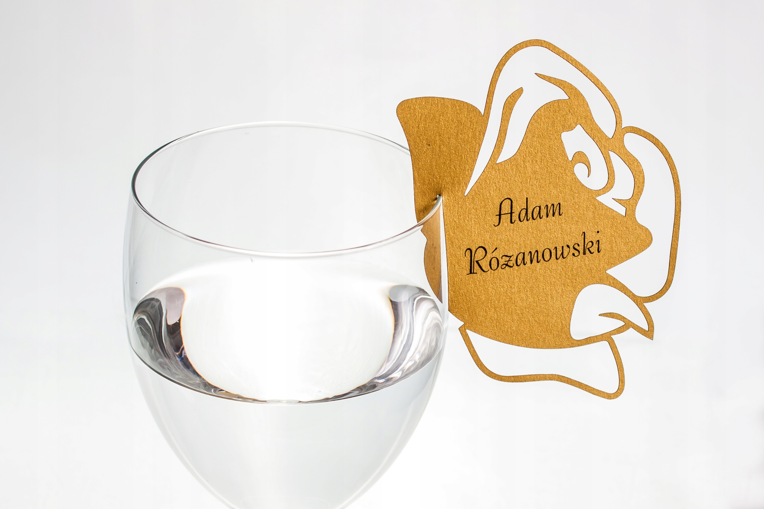 РОЗА Виньетки-визитки для рюмки ПЕЧАТЬ!