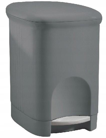 Meliconi корзина для мусора Square Grey 16l