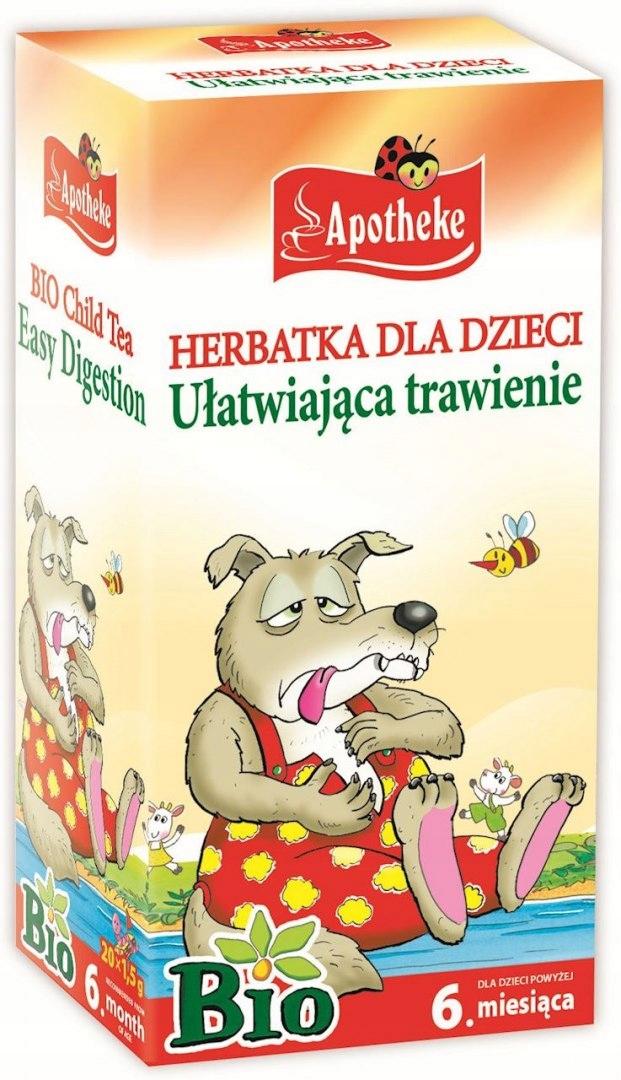 БИОЧАЙ ДЛЯ ДЕТЕЙ - ПИЩЕВАРЕНИЕ 20 x 1,5 г