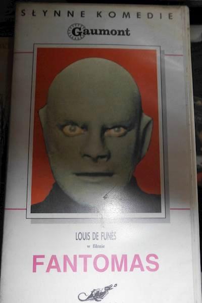 Item Fantomas - VHS cassette