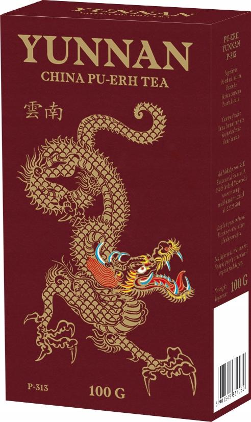 Юньнань китайский пуэр-юньнань красный чай 100г