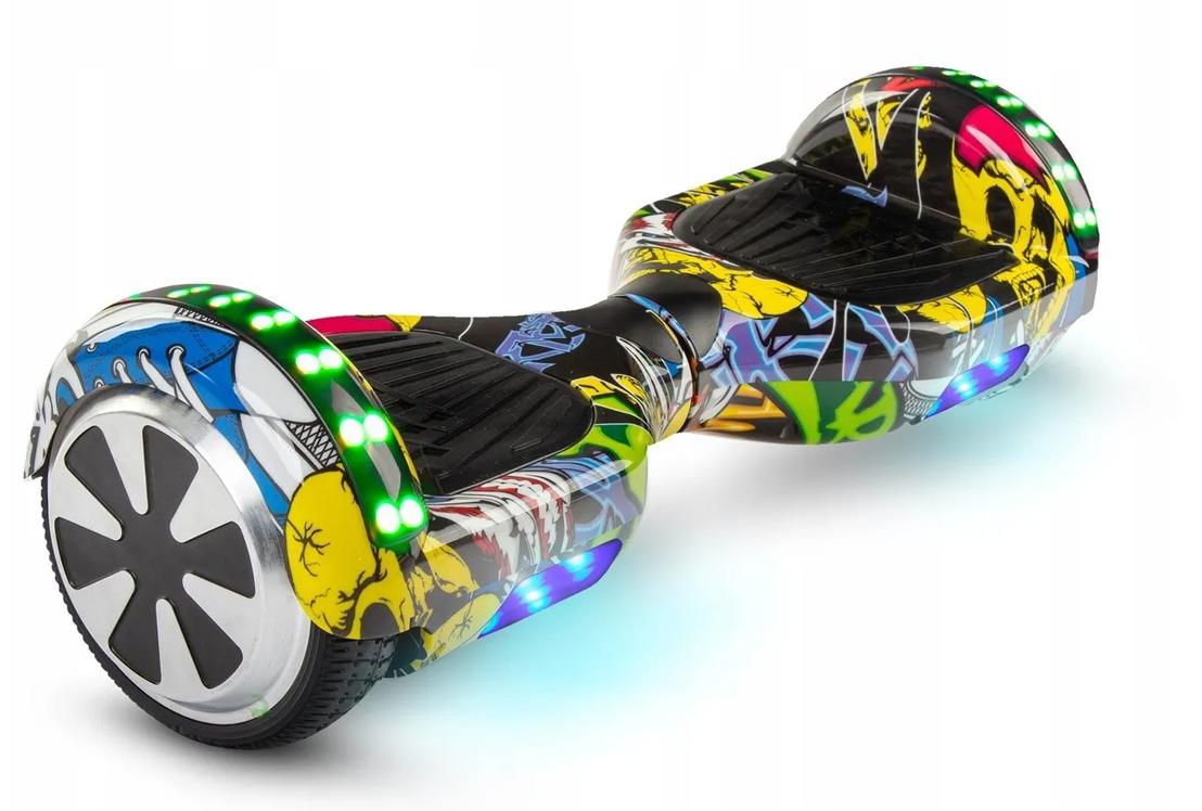 Deskorolka elektryczna 700W LED hoverboard AUDIO+