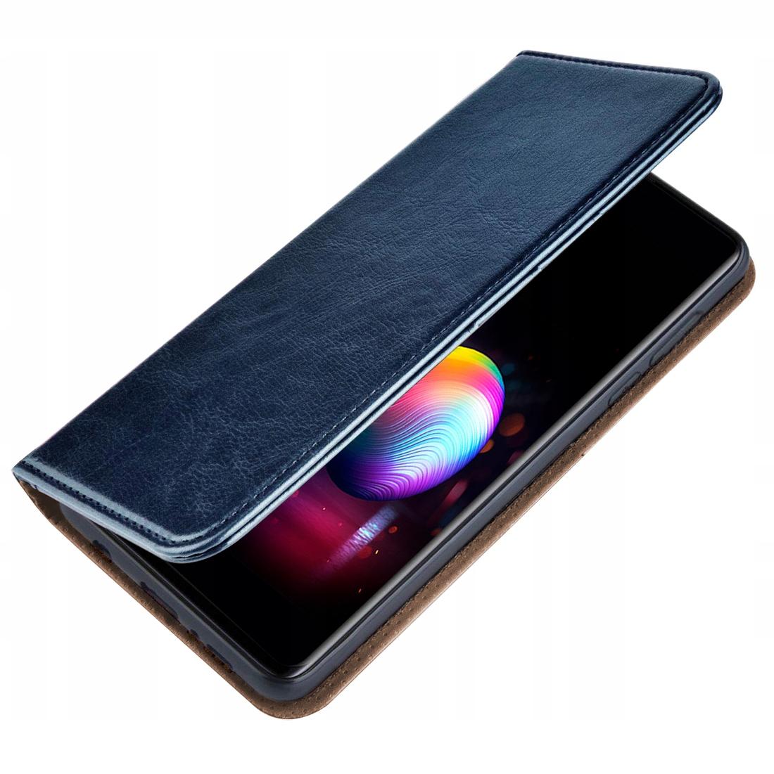 Etui do Samsung Galaxy M21 Skórzane Magnet + Szkło Dedykowany model Samsung Galaxy M21