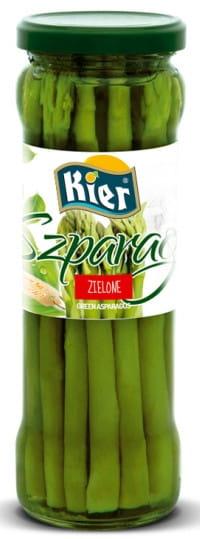 Szparagi Zielone Premium w Zalewie Słoiku 330g KIE