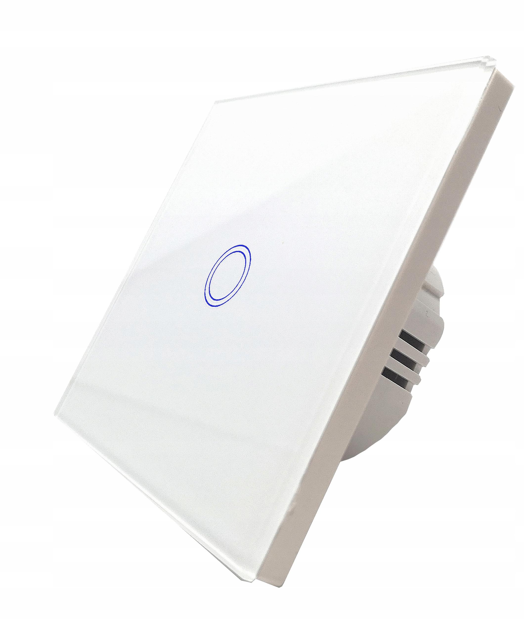 Выключатель Сенсорный СВЕТА Один , LED , стекло