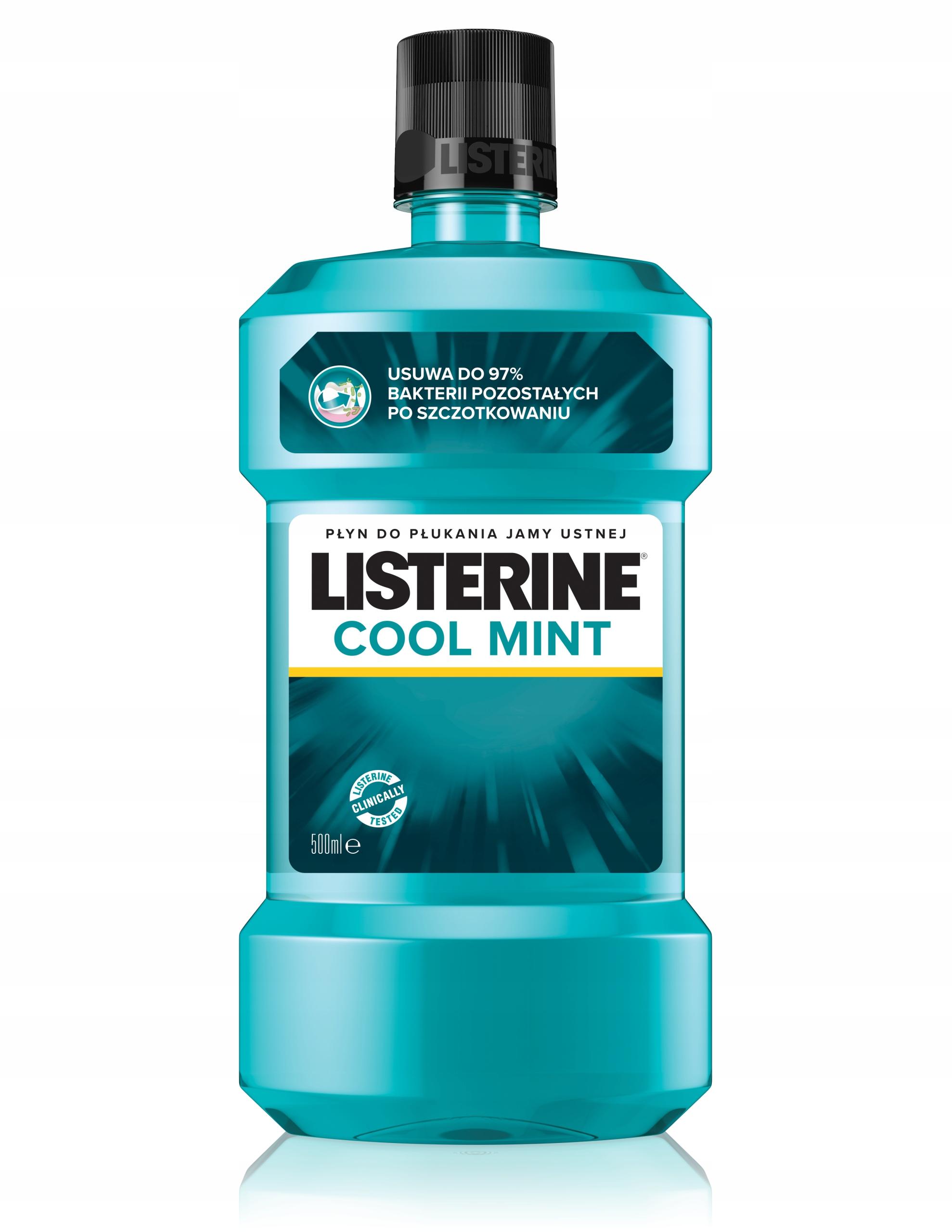 LISTERINE COOL MINT Płyn do płukania ust 500 ml