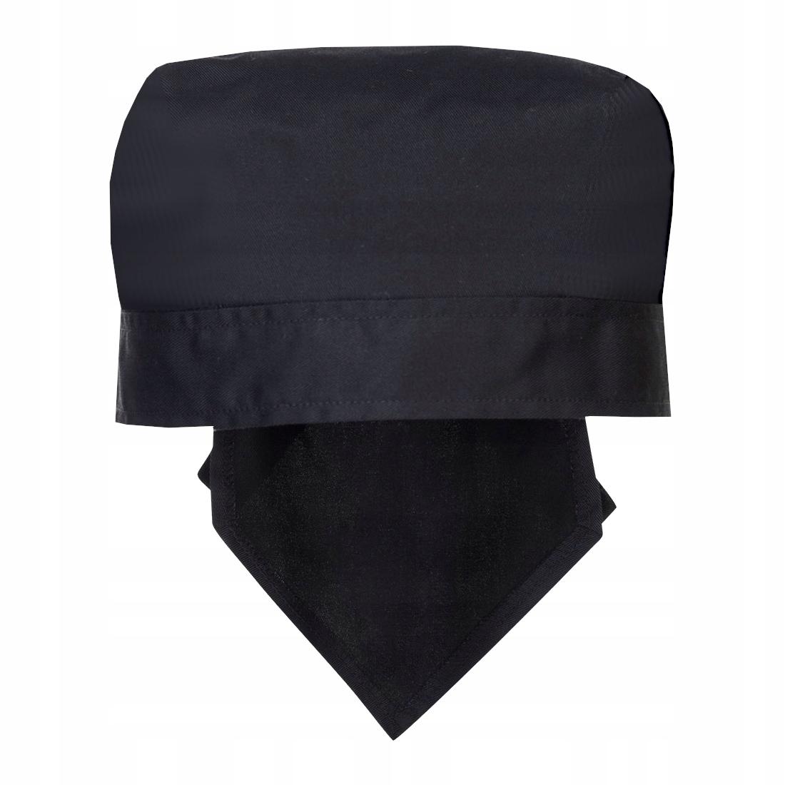 Черная именная бандана от шеф-повара