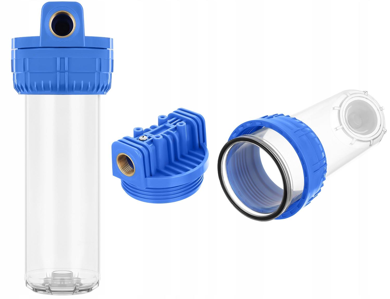 Проточный фильтр для воды 10 дюймов корпус 1 дюйм