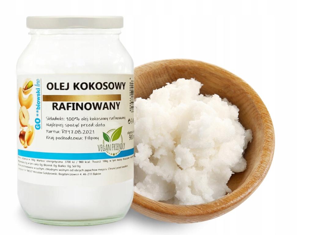 Рафинированное кокосовое масло 900 мл, PURE - MIGOgroup