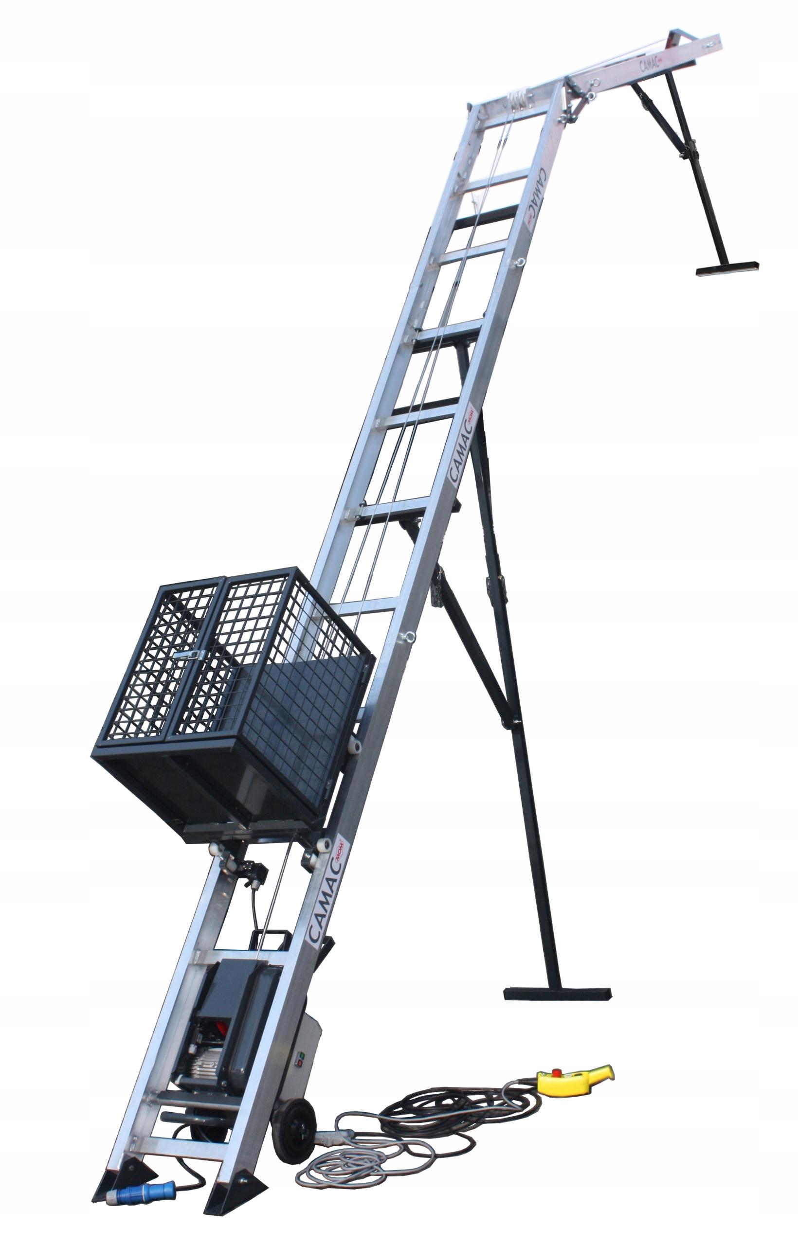 Drabina budowlana winda dekarska wyciąg budowlany