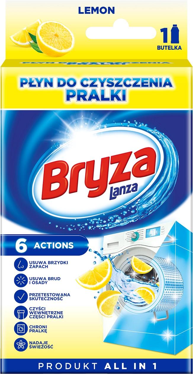 Бриз, Жидкость для Чистки Стиральной машины Lemon 250 мл