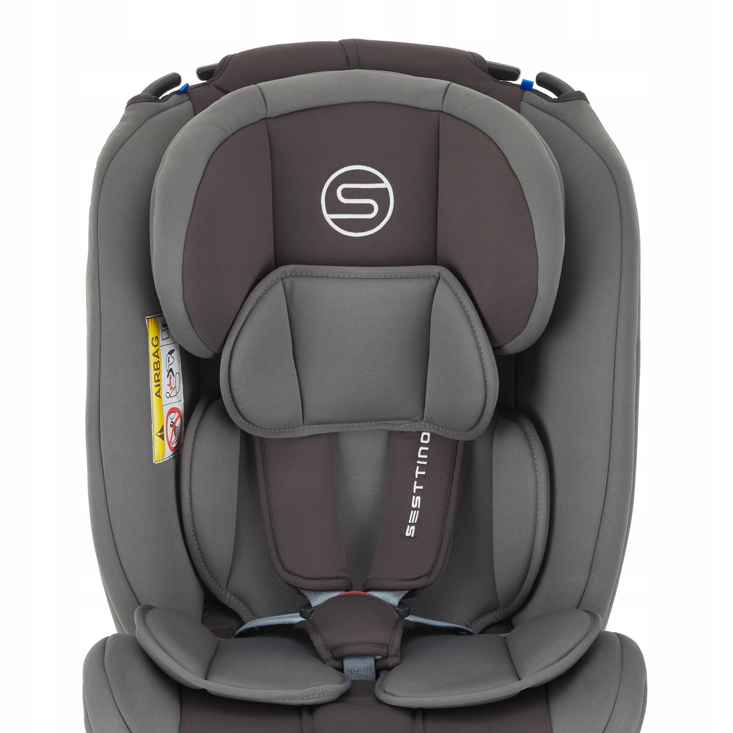 Fotelik samochodowy Sesttino Secure PRO 0-36kg Sposób montażu samochodowy pas bezpieczeństwa