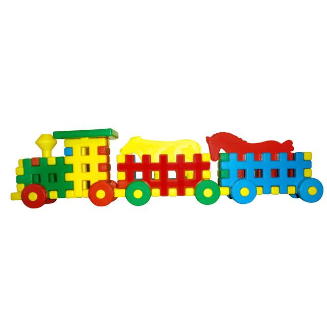 Поезд из конструктора картинки
