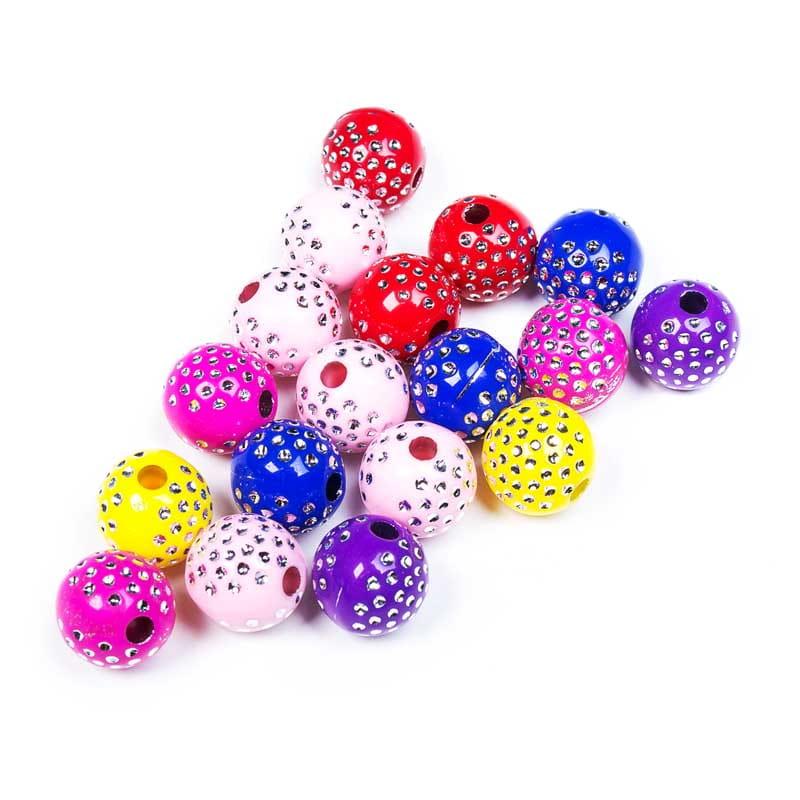Купить Бусы шарики с декоративными украшениями S на Otpravka - цены и фото - доставка из Польши и стран Европы в Украину.
