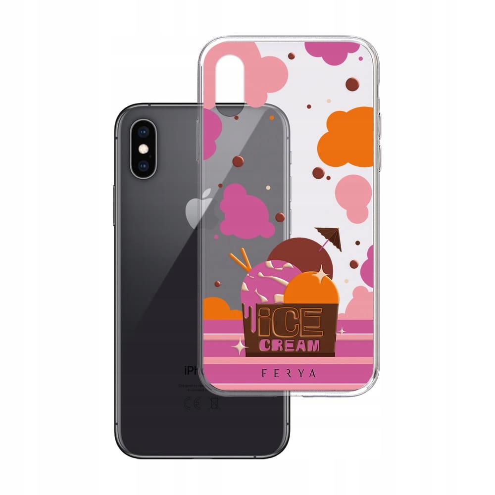 Etui na iPhone Xs Max 3mk ferya Ice Cream - Slim