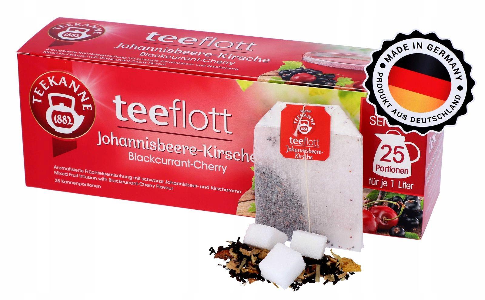 FAMILY фруктовый чай Teekanne XXXL Cherry