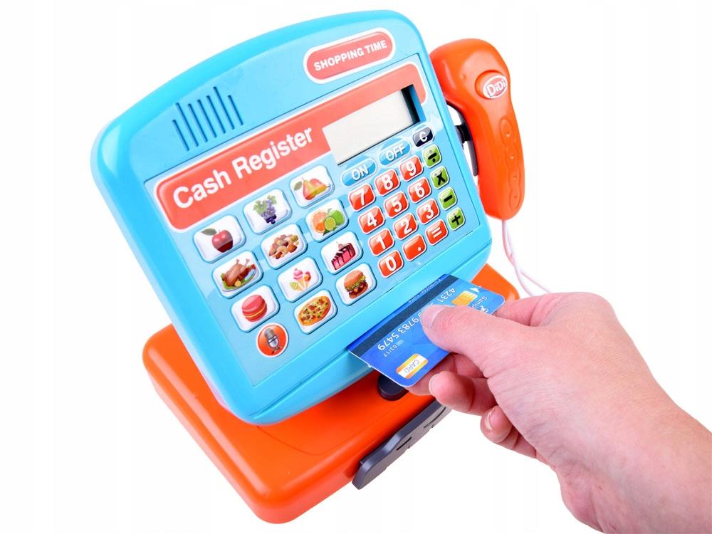 Elektroniczna zabawka Kasa fiskalna sklep ZA3883 Wiek dziecka 3 lata +