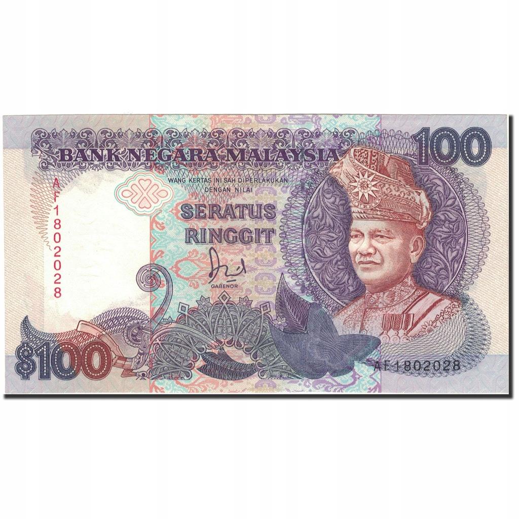 Банкнота, Малайзия, 100 ринггит, без даты (1989), км: