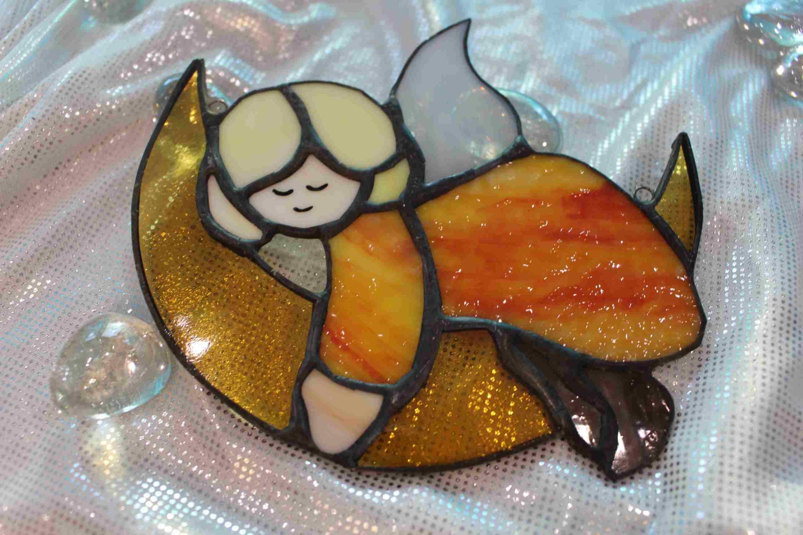 Ангел на Луне подарок ангел LP1 крещение