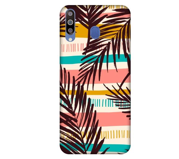 Etui na telefon Samsung Galaxy M30 Liscie tropical