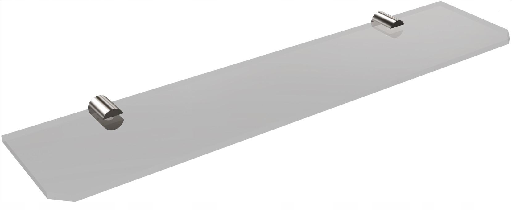 Polica bez rámu 50 cm, chróm SANIBELLA Andex