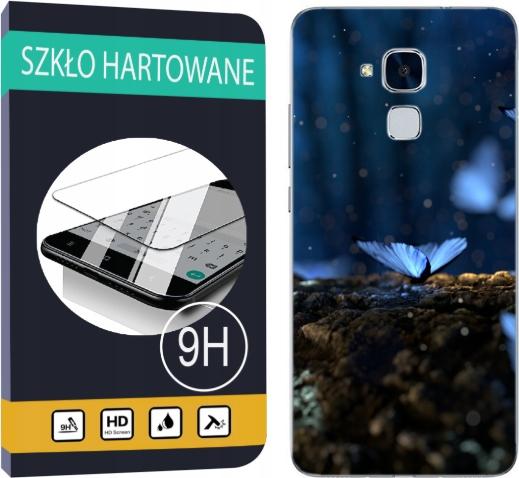 150 wzorów Etui+szkło do Huawei Honor 7 Lite Case