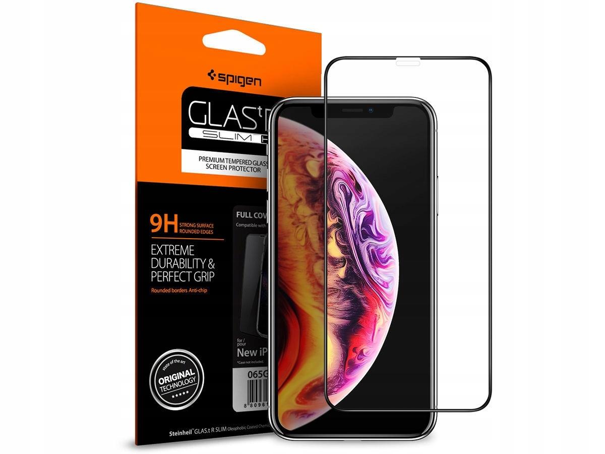Szkło Hartowane Iphone 11 Pro Spigen Glas. Fc Full
