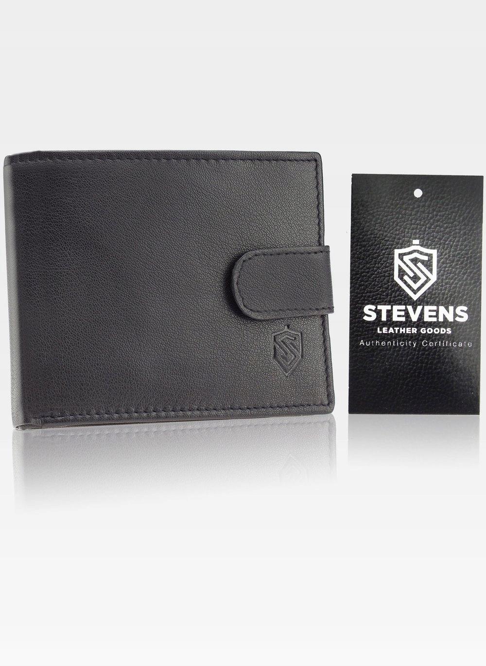 STEVENS GIFT SET. Wallet. Men's leather belt. The dominant logo pattern