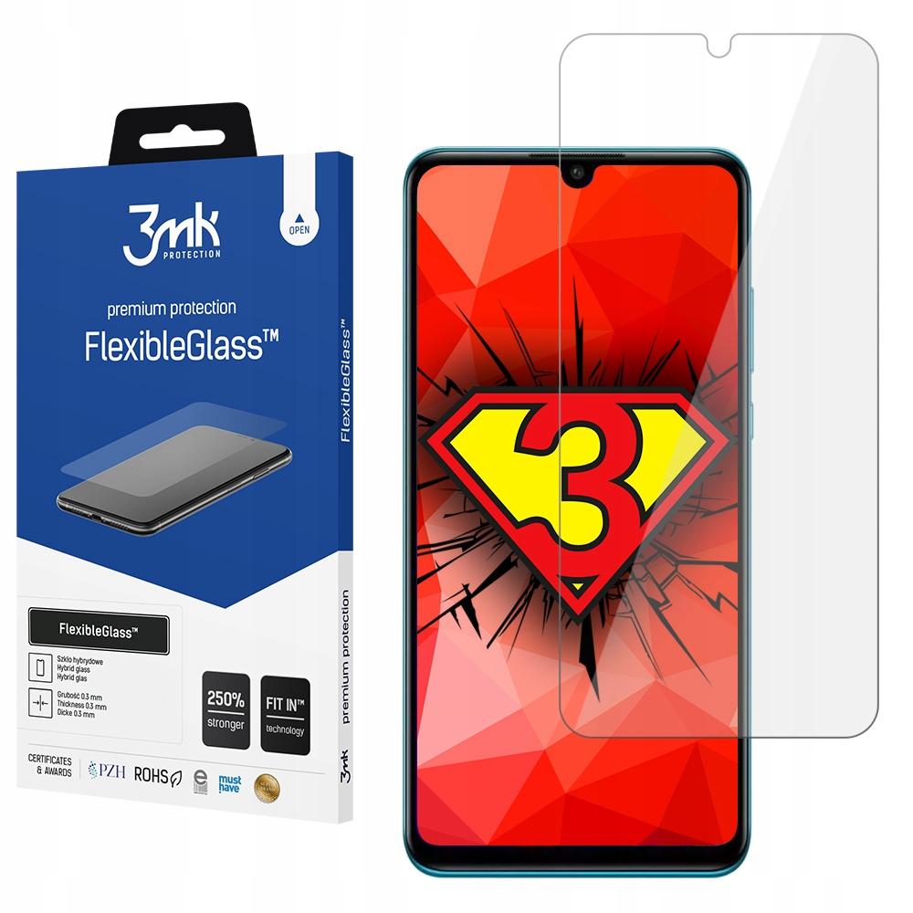 Do Huawei P30 Lite Szkło hybrydowe 3mk Flexi Glass