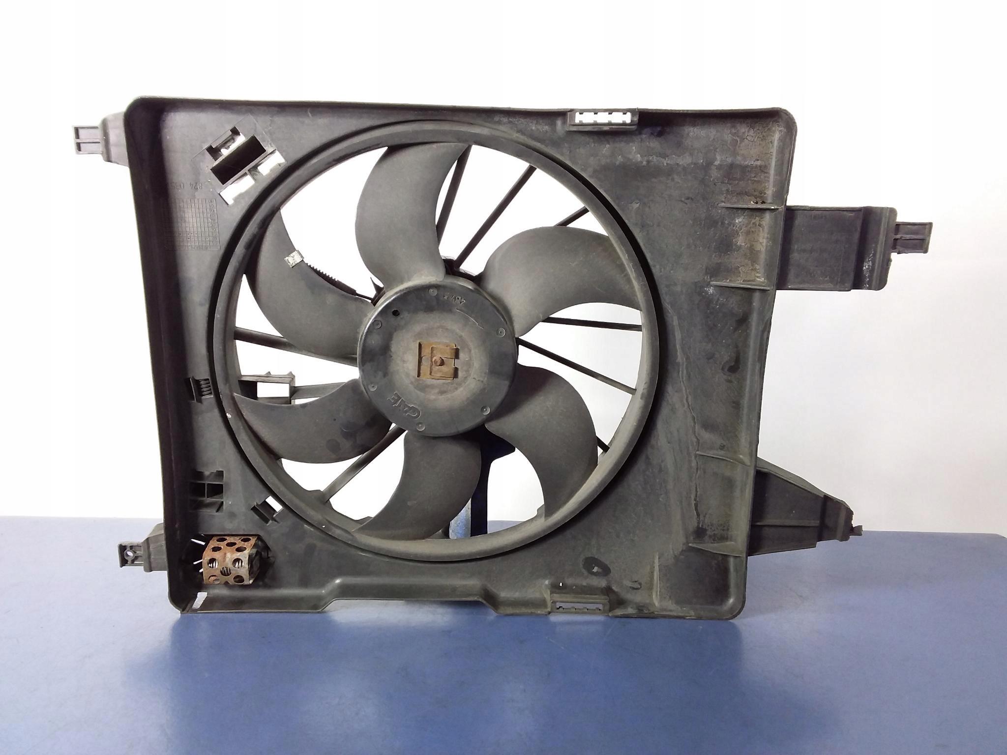 renault megane ii вентилятор радиатора 8200151464b