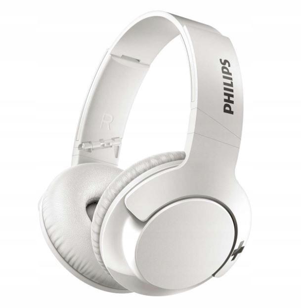 PHILIPS Zestaw słuchawkowy białe BT SHB3175WT